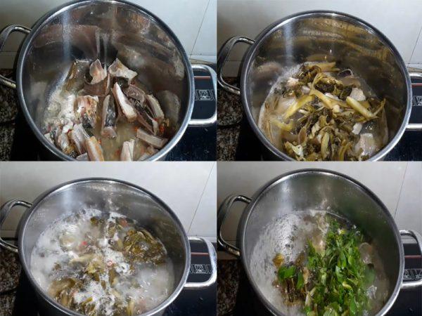 Nấu canh chua cá đuối