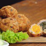 Món chả cá trứng muối và trứng bắc thảo siêu ngon