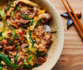 Món trứng chiên thịt bò bổ dưỡng đổi vị cho cả nhà