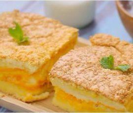 Món bánh bông lan phô mai Đài Loan