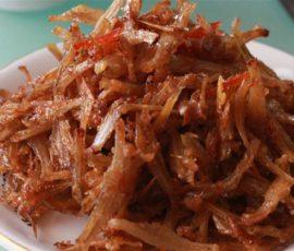 Món cá khô xào chua ngọt đậm đà ngon cơm