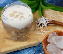Món chè khoai môn nước cốt dừa ngọt bùi