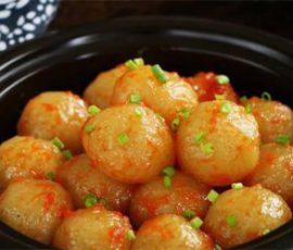 Món khoai tây nghiền sốt cà chua ngon không tưởng