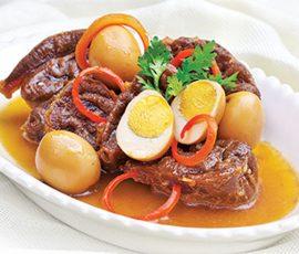 Món thịt bò kho tàu độc đáo lạ miệng