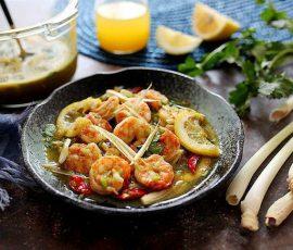 Món tôm trộn chua ngọt ngon lạ miệng