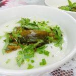 Món cháo lươn đậu xanh ngon không bị tanh