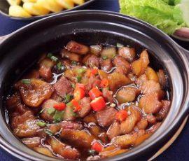 Món thịt kho dứa đậm đà ngon cơm
