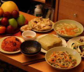 Món ăn ngon hấp dẫn từ thức ăn còn dư ngày Tết