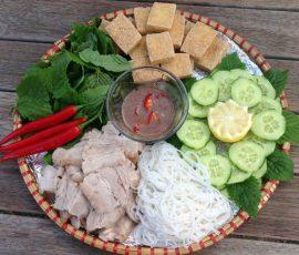 Món bún đậu mắm tôm chuẩn vị Hà Thành