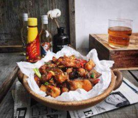 Món cá chiên tỏi ớt thơm lừng hấp dẫn