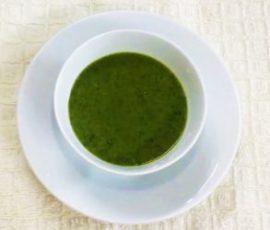 Món cháo lươn cải xanh cho bé ăn dặm
