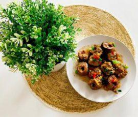 Món lươn xào sả ớt thơm cay đưa cơm