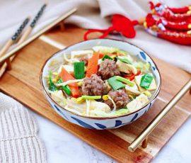 Món miến thịt rau củ ăn hoài không ngán