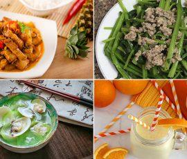 Món ăn dinh dưỡng giúp tăng cường sức đề kháng