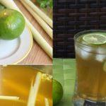 Nước mật ong chanh sả giúp tăng cường sức đề kháng