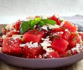 Món salad dưa hấu ngọt mát giàu vitamin