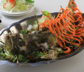 Món cá chẽm hấp đơn giản mà ngon tuyệt