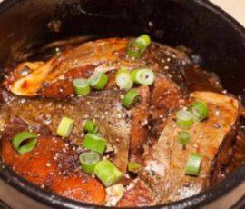 Món cá chép kho gừng đậm vị ngon cơm