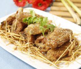 Món cánh gà rang muốigiòn rụm cực hấp dẫn