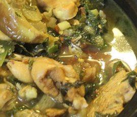 Món ếch xào cà tím ngon đậm đà đưa cơm