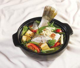 Món lẩu cá chẽm đậu hũ ngon khó cưỡng