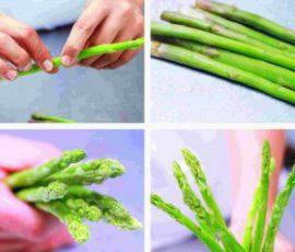 Sơ chế măng tây ngon và xanh bạn nên biết