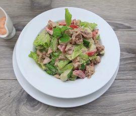 Món salad cá ngừ ngon bổ dưỡng dễ làm