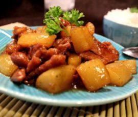 Món bò kho củ cải đơn giản mà ngon cơm