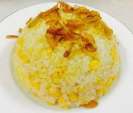 Món xôi ngô ngọt nước cốt dừa ăn hoài không chán