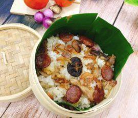 Món xôi phúc kiến của người Hoa đơn giản tại nhà