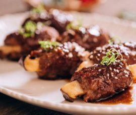 Món thịt bò băm bọc nấm ngon khó cưỡng đổi vị