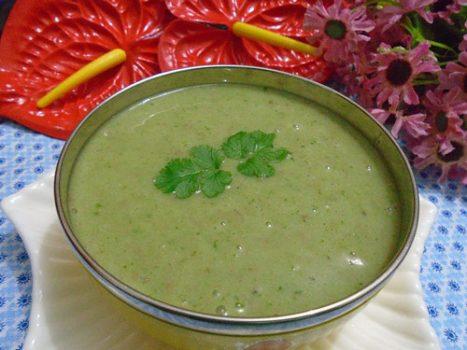 Món cháo tim đậu xanh tăng cường hệ miễn dịch