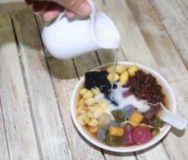 Món chè khoai lang dẻo đơn giản tại nhà