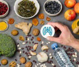 Thực phẩm tốt cho phổi để tránh dịch COVID-19