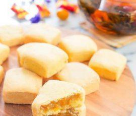 Món bánh dứa Đài Loan ngon chuẩn vị