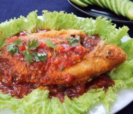 Món cá điêu hồng sốt cà đơn giản mà siêu ngon