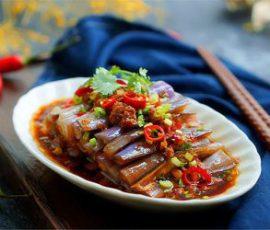 Món cà tím chưng thịt gà đậm đà đưa cơm