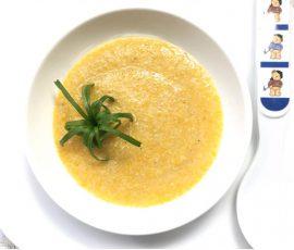 Món cháo lươn cà rốt cho bé ngon giàu dinh dưỡng