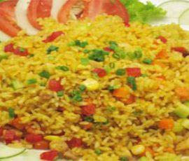 Món cơm chiên Dương Châu hạt vàng ươm thấm vị