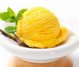 Món kem mít bằng máy xay sinh tố đơn giản