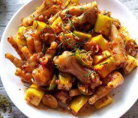 Món chân gà sốt Thái chua ngọt ngon khó cưỡng