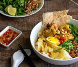 Món mì Quảng ngon chuẩn vị miền Trung tại nhà