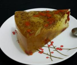 Món thạch hoa quế vừa ngon vừa đẹp da