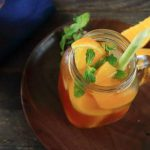 Món trà đào cam sả giải nhiệt ngày nắng