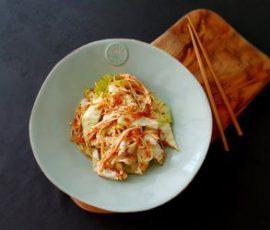 Món bắp cải trộn giúp thải độc giảm cân