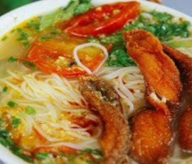 Món bún cá Hà Nội ngon chuẩn vị không bị tanh
