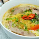 Món bún cá ngừ mang hương vị ngon đặc trưng