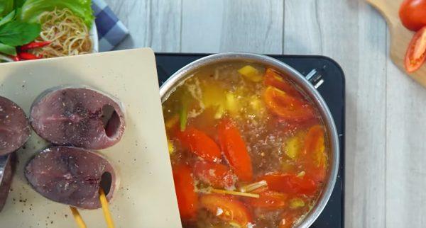 Nấu cá ngừ