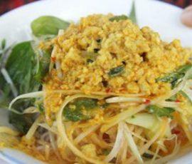 Món bún kèn Phú Quốc thơm ngon tại nhà
