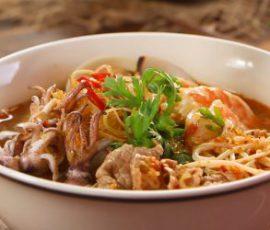 Món bún Thái hải sản chua cay ngon ngất ngây